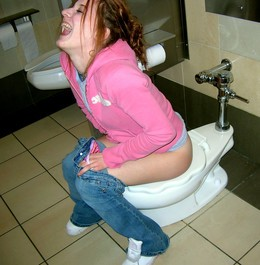 Young girlfriends caught peeing in the..