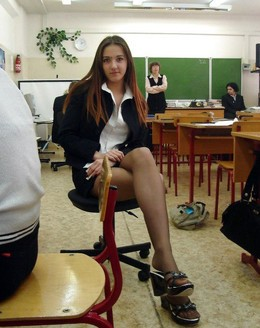 Beautiful schoolgirls in mixed erotic..